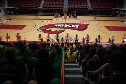 Scenes from MASTER Plan Convocation Aug. 17 at Diddle Arena.