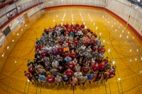 Staff at the Preston Health and Activities Center gathered for a group photo on Aug. 18.