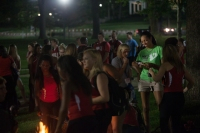 Scenes from M.A.S.T.E.R. Plan's R.O.A.R. Spirit Bonfire on Aug. 18.