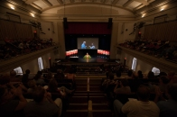 The President's Opening Convocation was held Aug. 22 at Van Meter Hall.