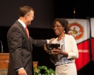 Dr. Grace Lartey received the University Award for Student Advising.