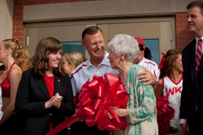 Scenes from the DSU dedication and ribbon cutting.
