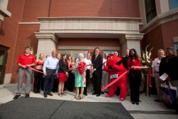 A ribbon cutting for the Downing Student Union was held Aug. 29.