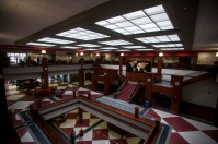 A look inside the Downing Student Union.