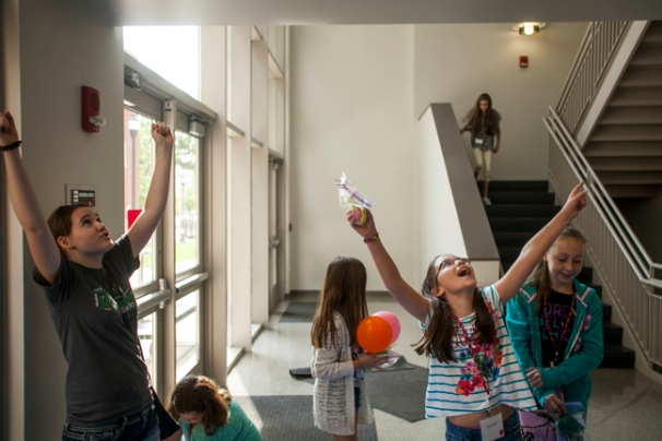 Girls in Science Day on Sept. 6.
