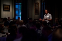 WKU's Department of Engineering hosted a networking dinner on Sept. 18 at the Kentucky Museum.