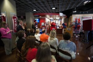 US Bank grand opening and ribbon cutting Sept. 25 inside the WKU Store at Downing Student Union.