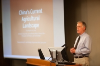 Dr. Jack Rudolph, head of WKU's Agriculture Department, was among the speakers at the Understanding China Symposium on Sept. 26 at Gary Ransdell Hall. Find out more at http://www.wku.edu/ci/ci_day_2014_understanding_en.php