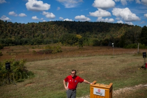 WKU President Gary Ransdell was among the featured speakers at the Green River Preserve anniversary celebration.