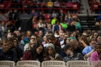 About 5,000 people attended Bill Nye's presentation on Oct. 15 at Diddle Arena.