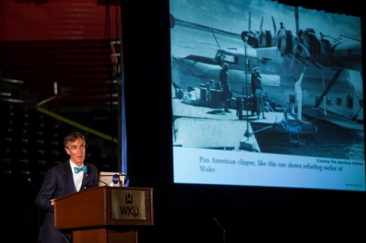 WKU's Cultural Enhancement Series hosted Bill Nye on Oct. 15.