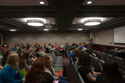 Educational Talent Search hosted area high school students on Oct. 16.