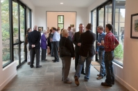 A reopening ceremony for the Downing Museum at the Baker Arboretum was held Oct. 16.