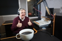 "Joe Corcoran, WKU Public Radio's ""Morning Edition"" host"