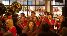 2014 Homecoming: Chili and Cheese Luncheon and Pep Rally