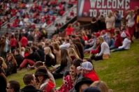 2014 Homecoming: Game and fans