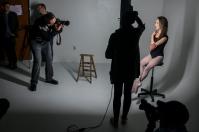 Photographer Gregory Heisler conducted a lighting workshop Nov. 10.