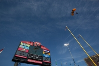 The Army Golden Knights arrived at Houchens Industries-L.T. Smith Stadium before WKU vs. Army on Nov. 15.