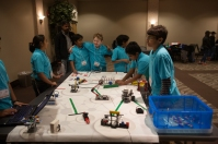 WKU hosted a FIRST® LEGO® League Regional Qualifying Tournament on Nov. 22 at the Knicely Conference Center.