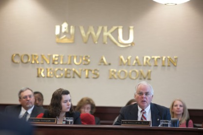 The WKU Board of Regents met Jan. 23.