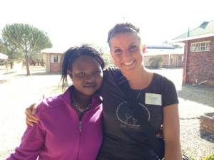 Katie Wellington (right), a 2009 WKU graduate, will be working in South Africa as volunteer for the Peace Corps.