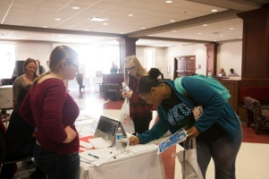 A Study Abroad Fair was held Feb. 4 at the Downing Student Union.