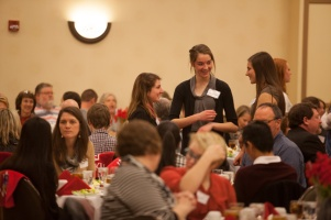 WKU hosted a luncheon on Feb. 6 for Cherry Presidential Scholarship finalists.