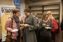 """The opening reception for """"Art in Motion/Guayasamín's Ecuador Unframed"""" was held Feb. 9 at the Kentucky Museum."""
