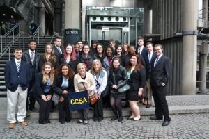 The Cooperative Center for Study Abroad completed three winter programs in London.