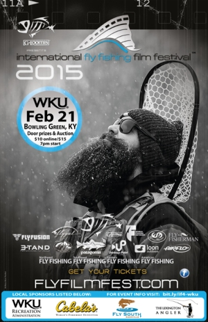 The WKU Recreation Administration program will host the 2015 International Fly Fishing Film Festival on Feb. 21 at Downing Student Union Auditorium.