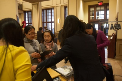 Confucius Institute's Chinese New Year celebration on Feb. 22.