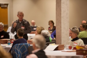 Society for Lifelong Learning's first Food for Thought luncheon on Feb. 26.