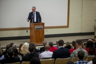 WKU's Gordon Ford College of Business hosted Bill Johnson, President and Chief Executive Officer of the Tennessee Valley Authority, for the Hays Watkins Visiting CEO Lecture Series on March 26.