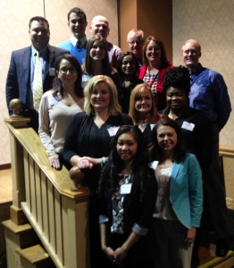WKU Public Health students, alumni and faculty and Kentucky long term care leaders attended ACHCA's District 3 Meeting in Rising Sun, Indiana.