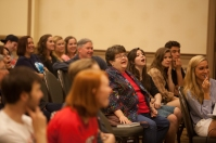 Emmy-nominated writer and WKU alumnus Kirker Butler returned to campus April 14 for a presentation and book signing.