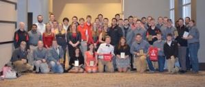 WKU civil engineering students, faculty and staff attended the 2015 Ohio Valley Student Competition at the University of Cincinnati.