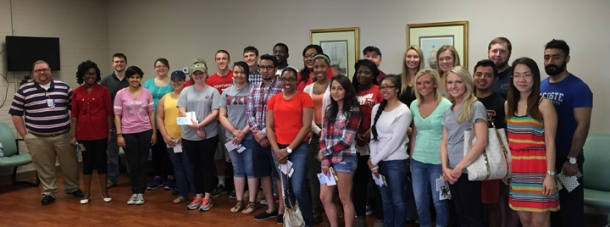 WKU Long Term Care students visited Barren River Adult Day Care.