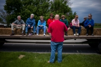 Society for Lifelong Learning class visited the WKU Farm.