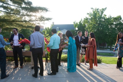 WKU hosted several educators from India.