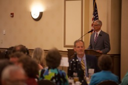 Scenes from the Retirement/25-Year Dinner on May 4.