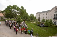 Scenes from The Gatton Academy expansion announcement on May 6.