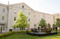 Scenes from The Gatton Academy expansion announcement on May 6. (WKU photos by Clinton Lewis)