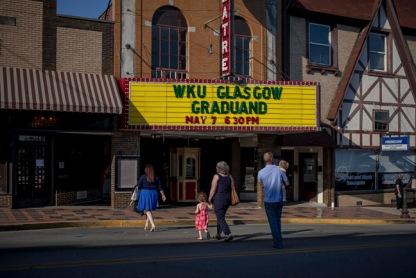 Scenes from WKU Glasgow Graduand on May 7.