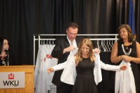 WKU Doctor of Physical Therapy students entering into their third and final, clinical year of their studies celebrated their White Coat Ceremony on May 8.