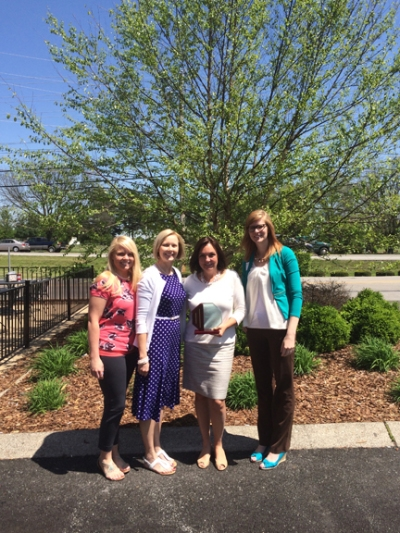Crocker Law Firm received the 2015 Philanthropic Business Award at the WKU Nonprofit Student Association luncheon on April 23.