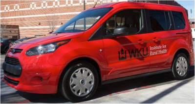 WKU's Institute for Rural Health will use its new Ford Transit Connect to provide preventive medical and dental services, as well as health education in rural areas of the Commonwealth of Kentucky.