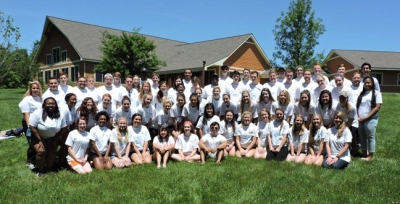 A group of 57 students participated in WKU LeaderShape Institute.