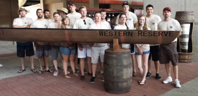 WKU finished 17th overall in the 2015 National Concrete Canoe Competition, held June 20-22 at Clemson University.