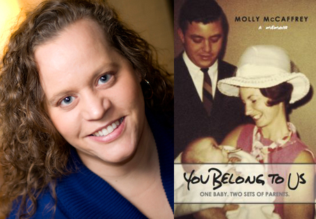 Molly McCaffrey's second book, You Belong to Us, will be released on June 30. She will begin a book tour July 7 in Bowling Green.