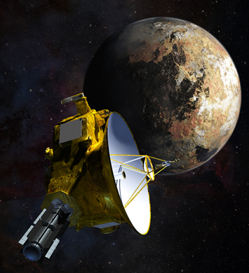 New Horizons at Pluto will be presented July 2-Aug. 23 at Hardin Planetarium.